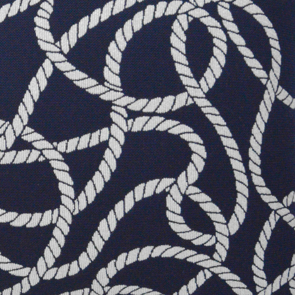 Maritime Ropes Pillow fabric close up