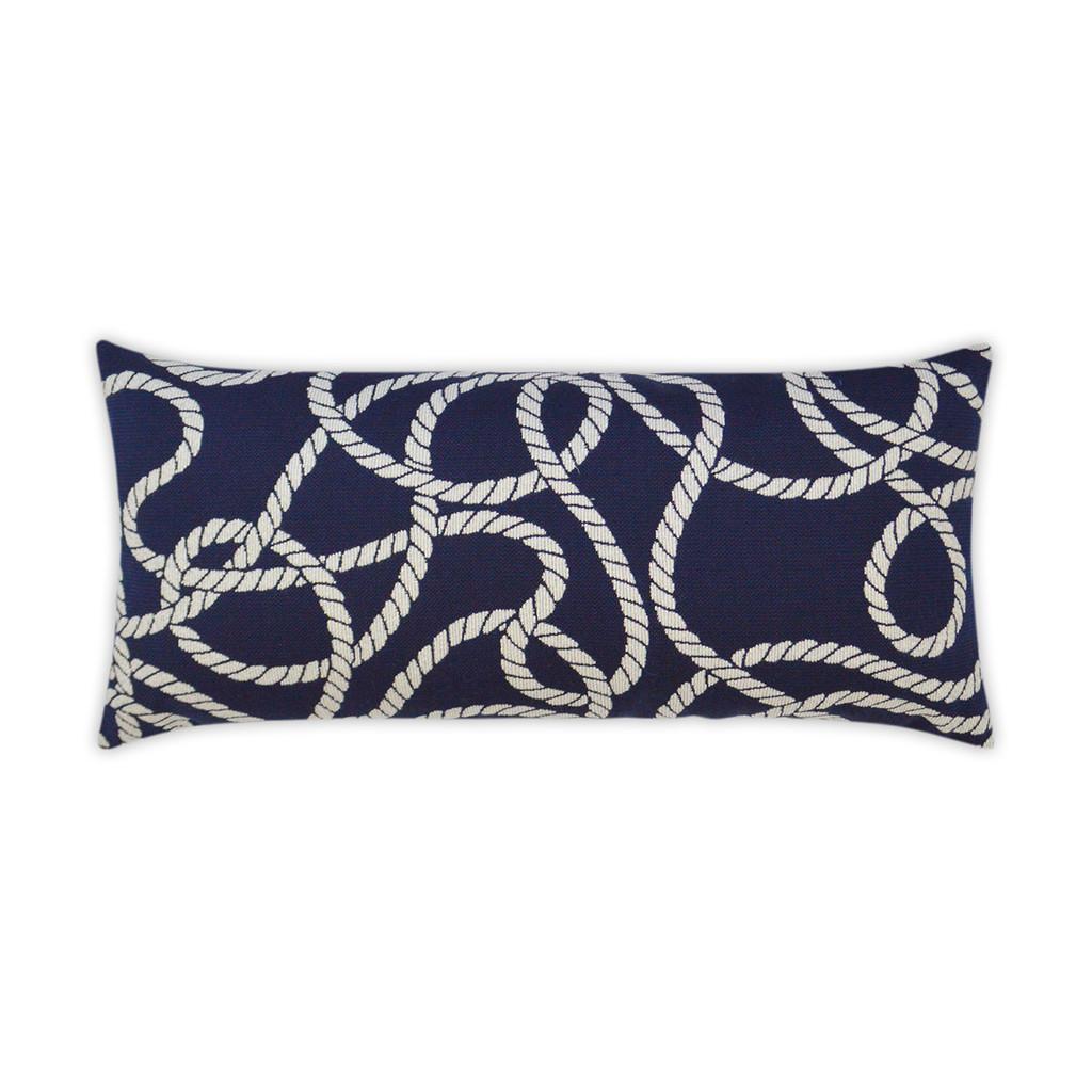 Maritime Ropes Lumbar Pillow