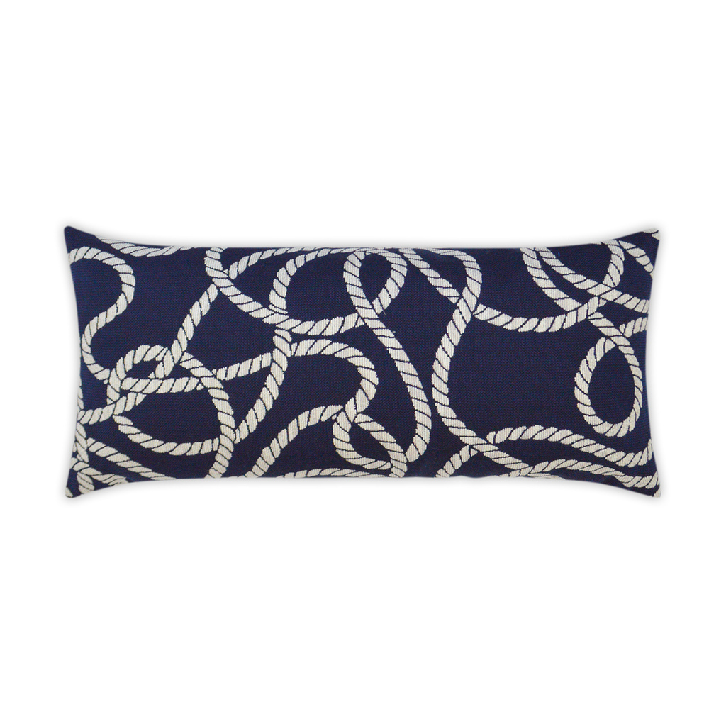 Maritime Ropes Lumbar Pillow