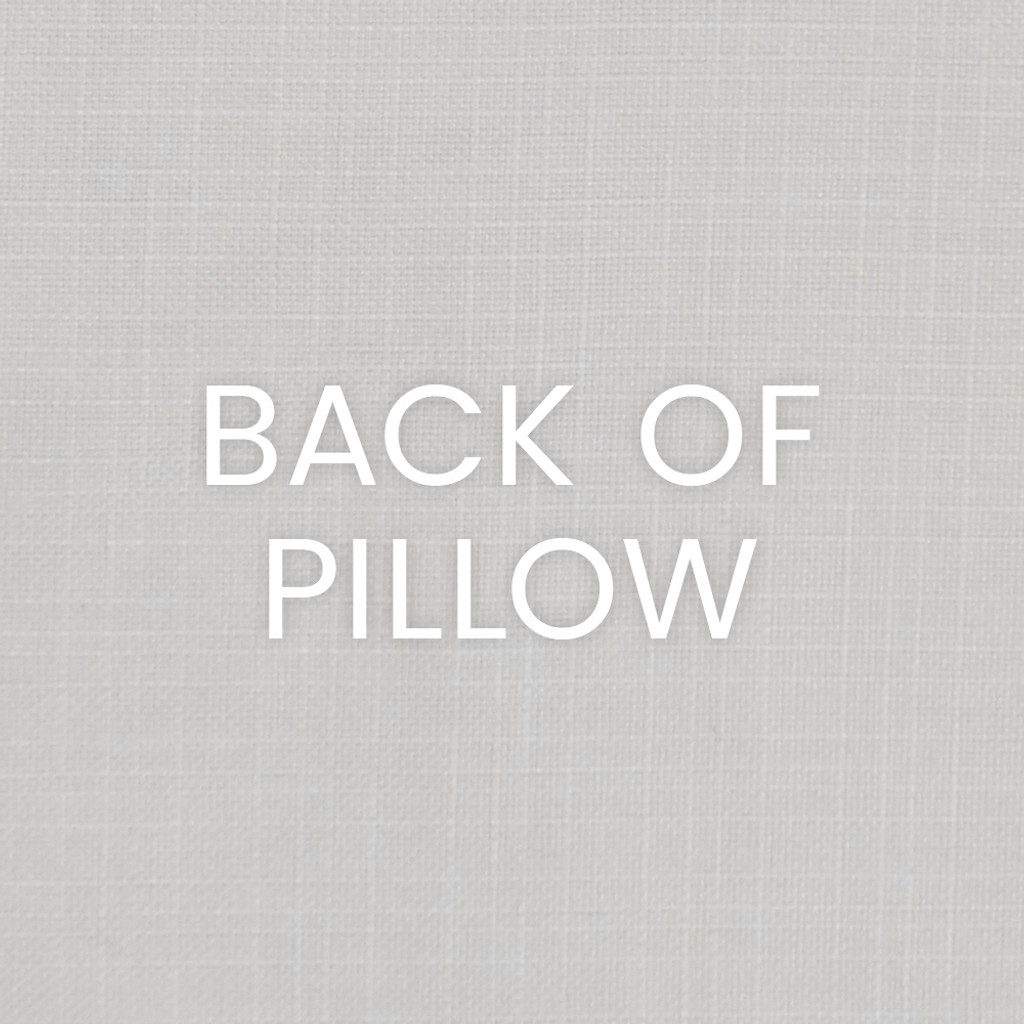 Navy Port of Call Pillow back of pillow