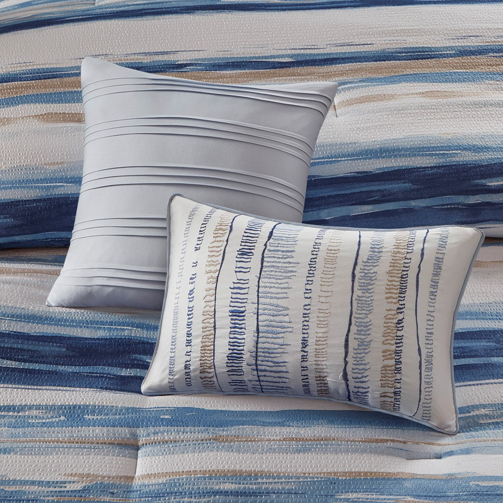 Marina Sea 8-Piece Comforter and Coverlet Collection 3