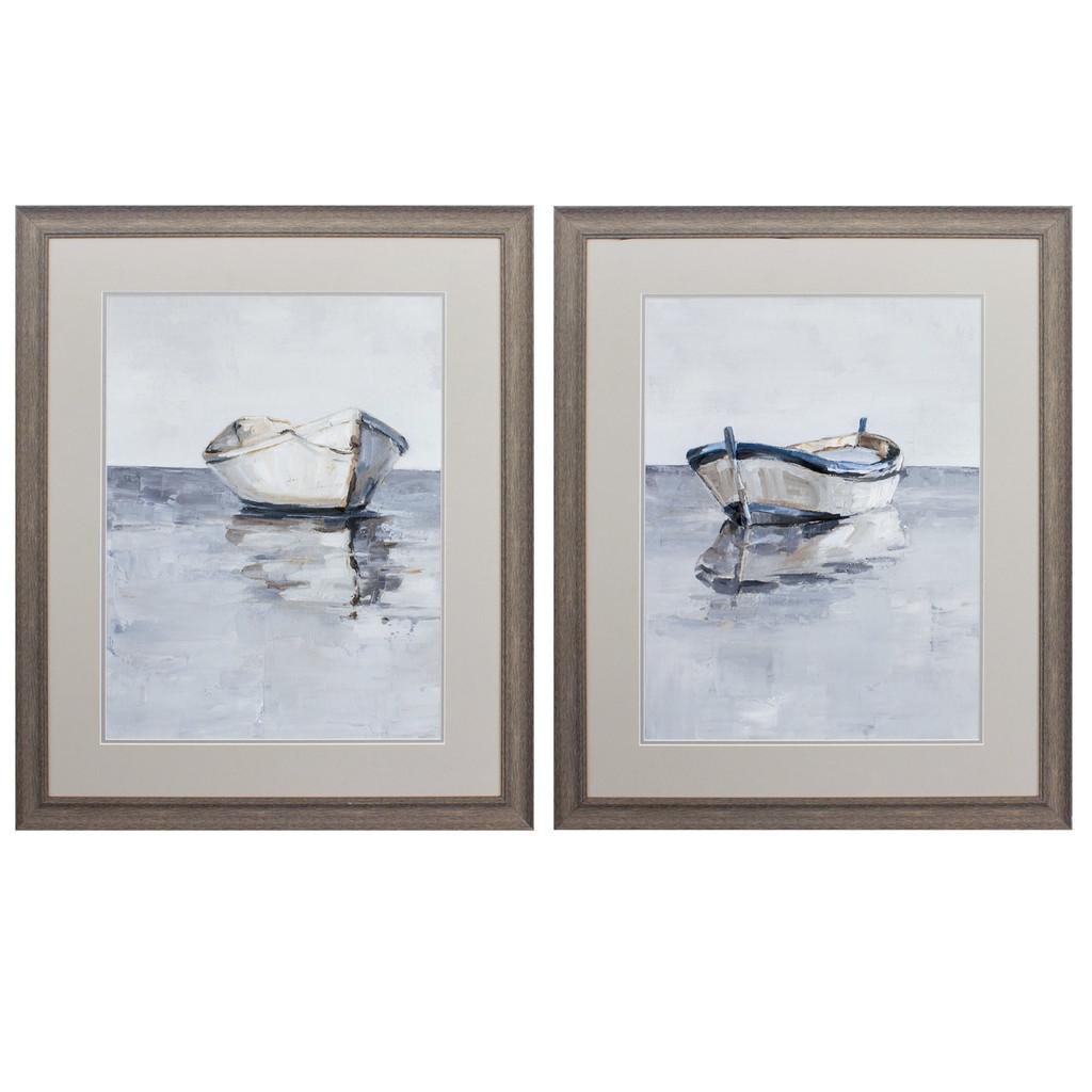 Boats Adrift on the Horizon Wall Art