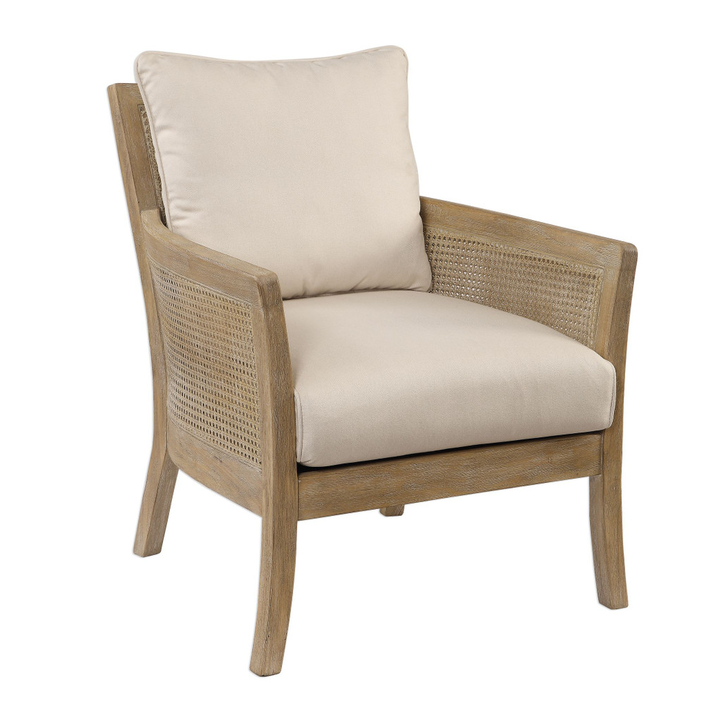 Encore Light Wash Natural Arm Chair