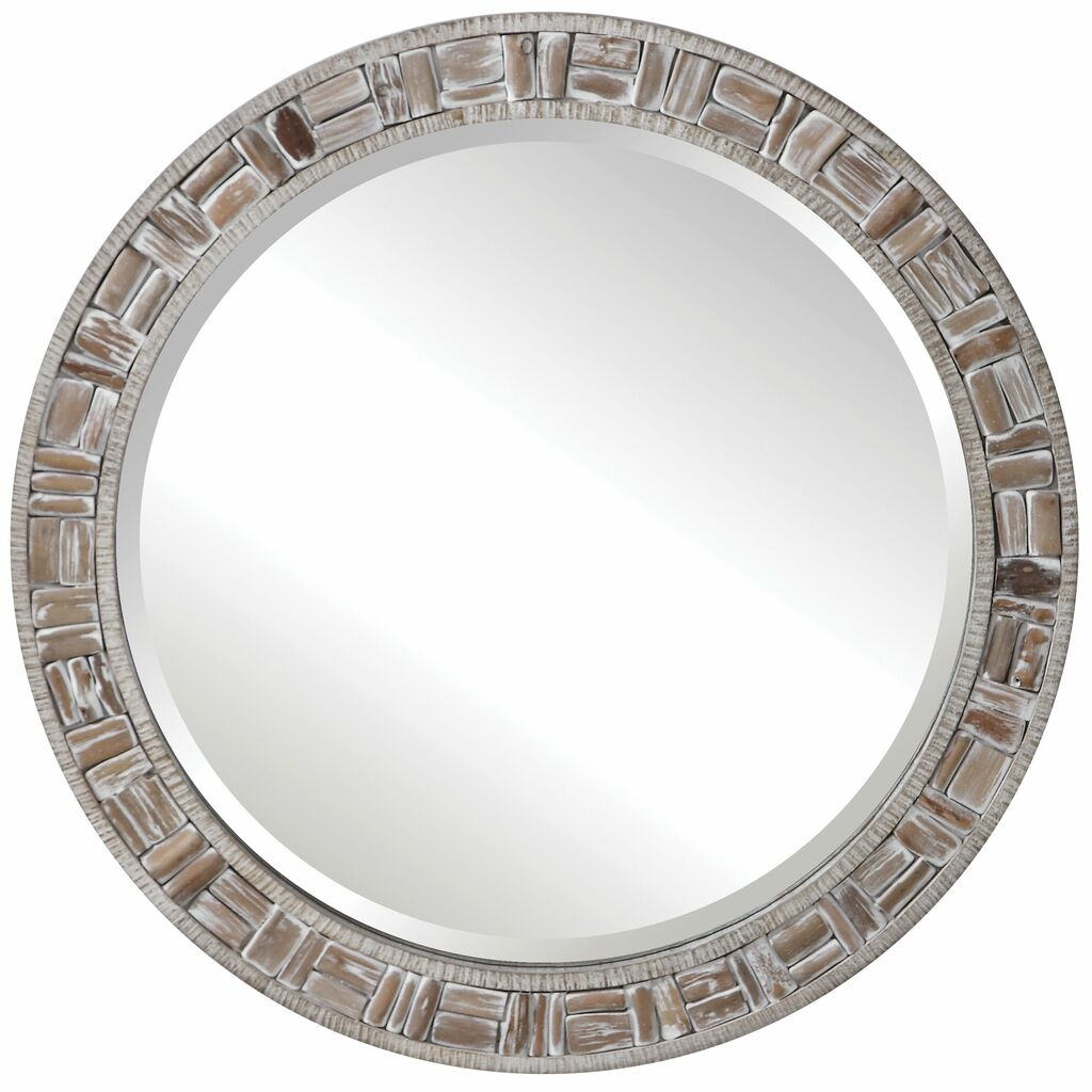 Del Mar Round Mirror