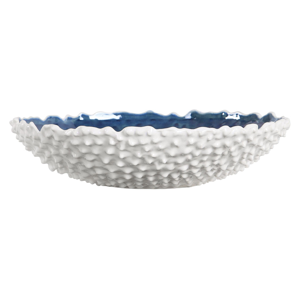 Fijian Reef White Bowl