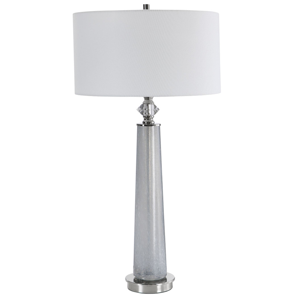 Grays Harbor Frosted Art Table Lamp main image