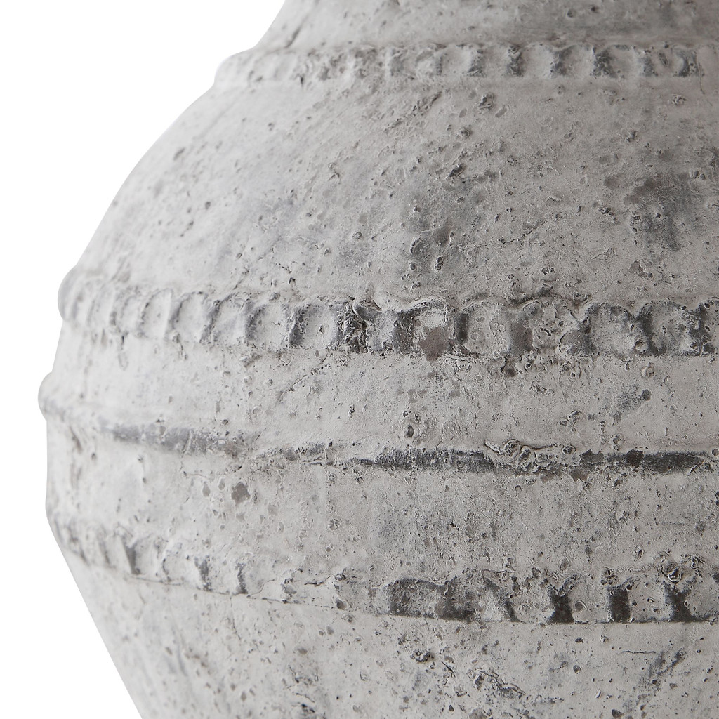 Majorca Stone Table Lamp  close up