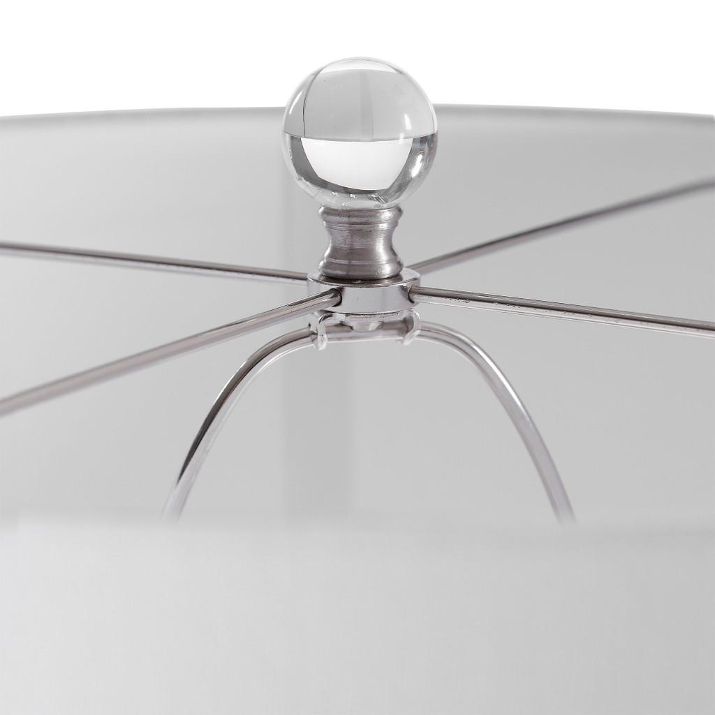 Breeze Light Blue Table Lamp finial