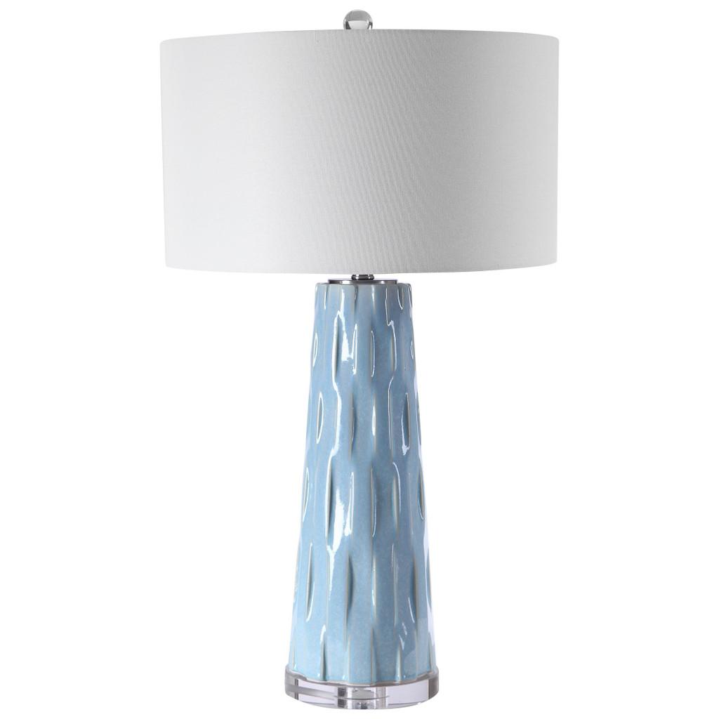 Breeze Light Blue Table Lamp