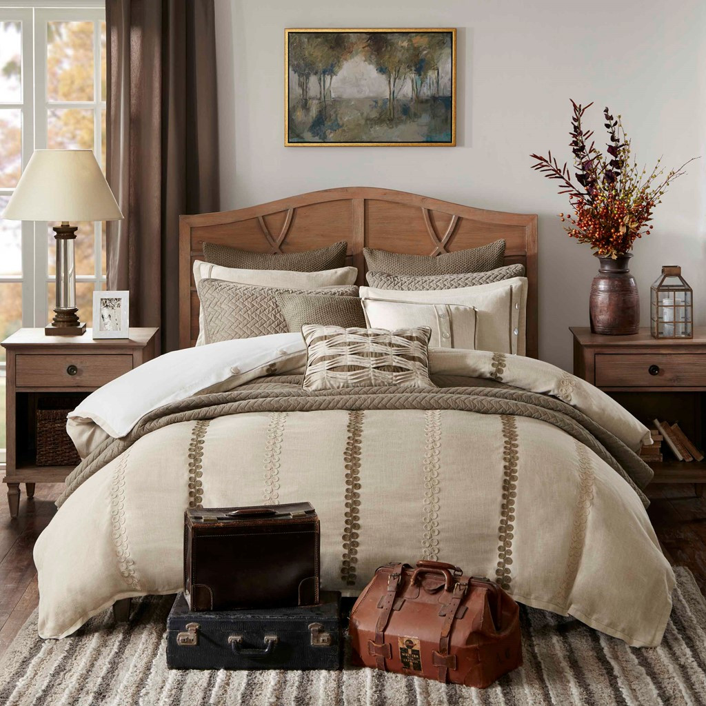 Beach Chateau Luxury 8-Piece Bedding Collection room view 2