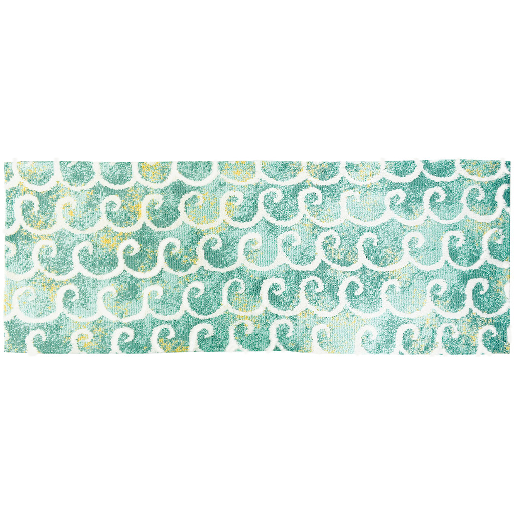 Dancing Waves Accent Rug runner size
