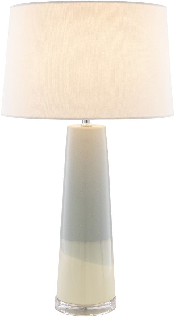 Vaughn Bay Table Lamp light on