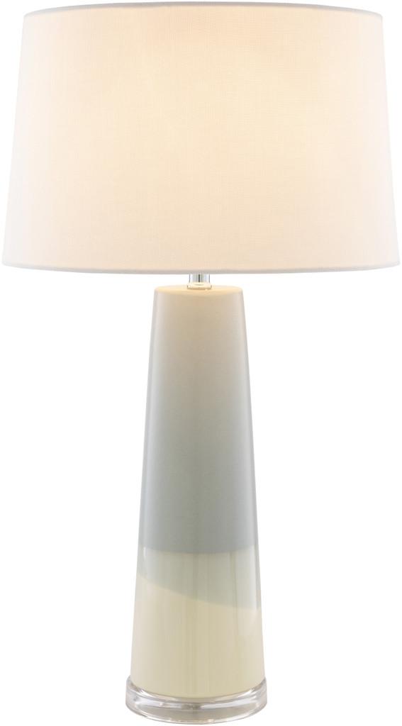 Vaughn Bay Table Lamp light on