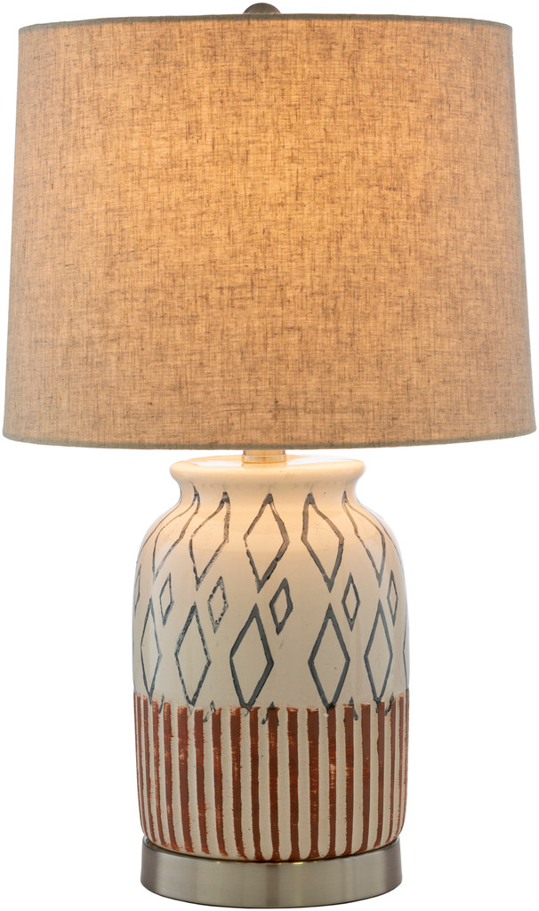 Ocean City Nautical Table Lamp light on