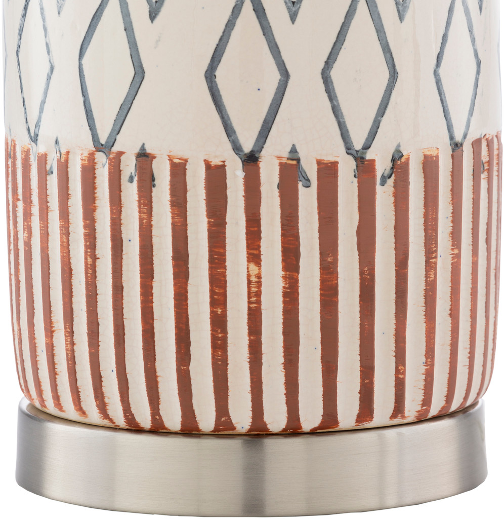 Ocean City Nautical Table Lamp lamp base close up 2