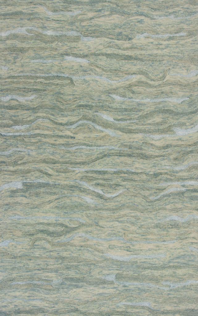 Serenity Seafoam Breeze Luxury Wool Rug main image