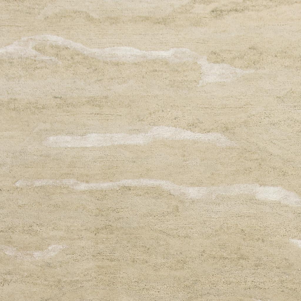 Serenity Dune Breeze Luxury Wool Rug close up
