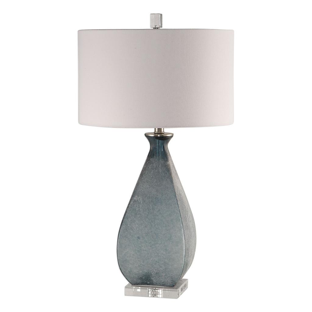 Ocean Blue Atlantica Glass Table Lamp