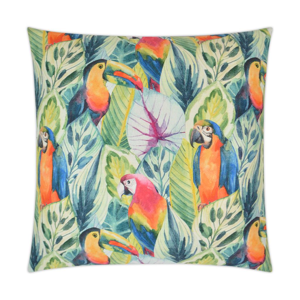 Birdy Opulent Tropical Pillow