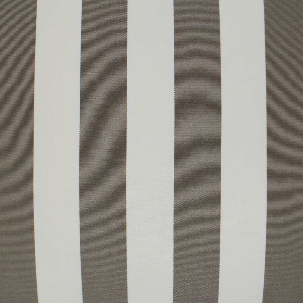 Driftwood Cabana Striped Outdoor Lux Pillow close up