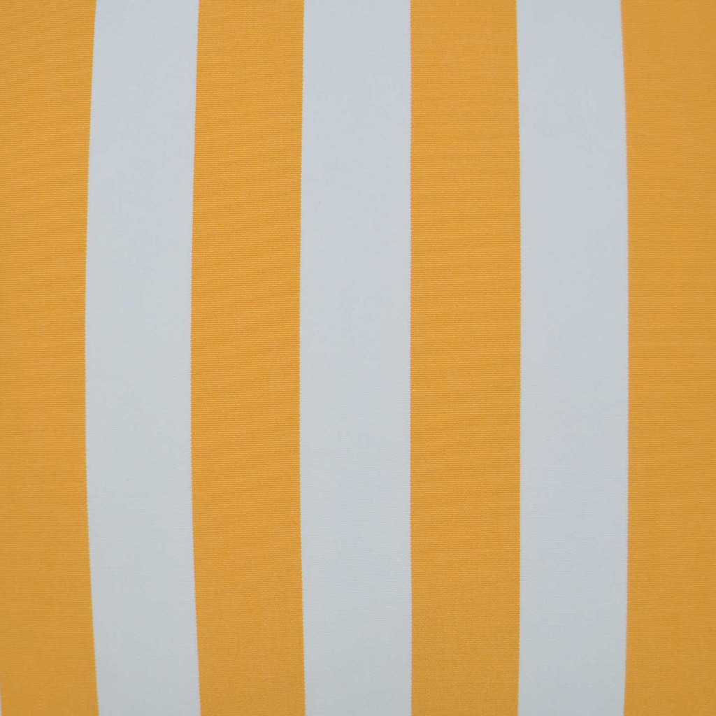 Sunshine Cabana Striped 22 x 22 Outdoor Lux Pillow fabric close up
