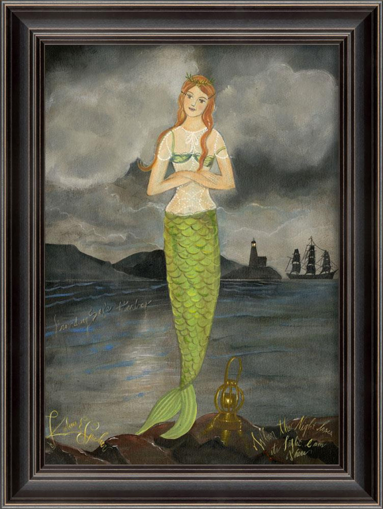 Providing Safe Harbor Mermaid Art