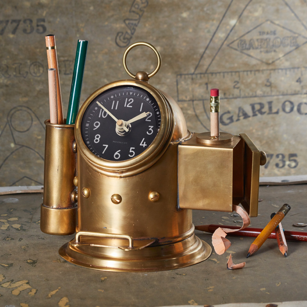 Pilot House Table Clock
