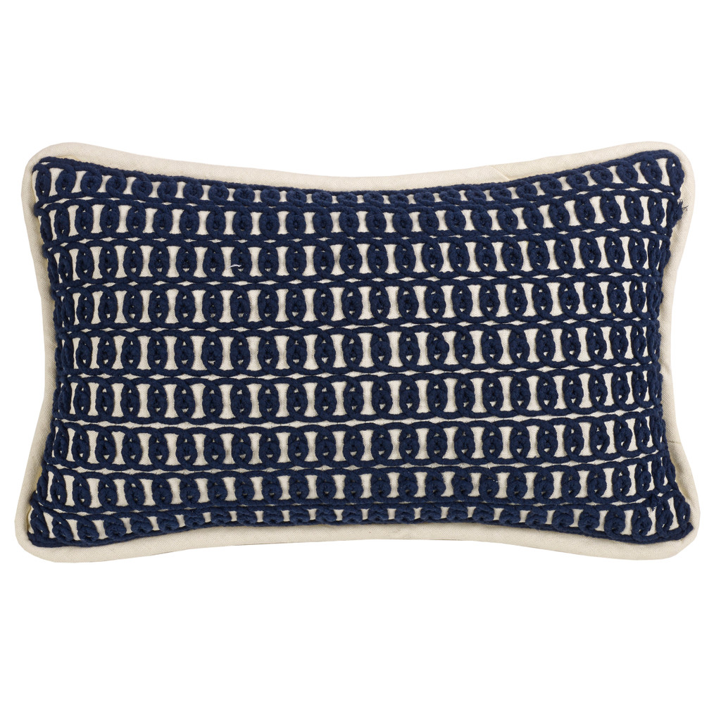 Monterrey Rope Embroidery Pillow