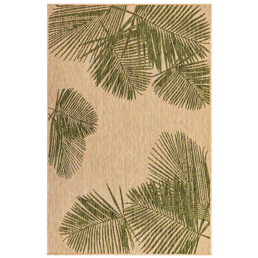 Carmel Tropical Green Palm Rug