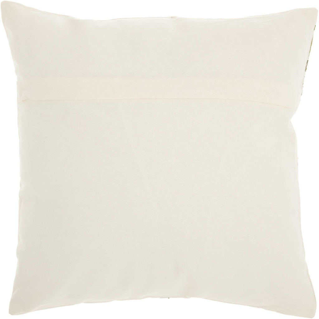 Royal Palm Tropical Coconut Tree Pillow back