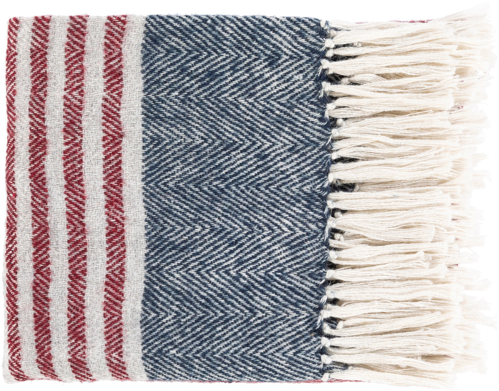Nautical Striped Traverse Woven Throw