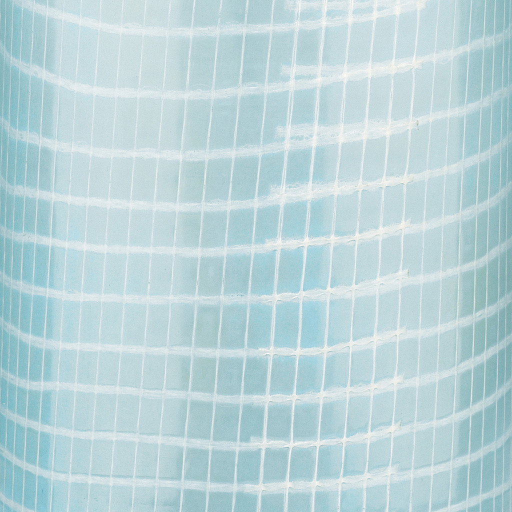 Coastal Water Blue Table Lamp close up pattern