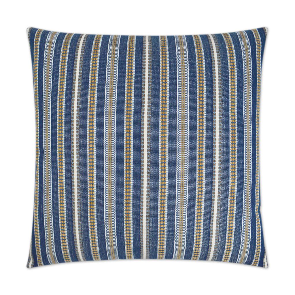 Comino Blue Lagoon Striped Pillow