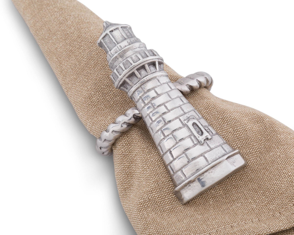 Lighthouse Napkin Rings Beauty Image