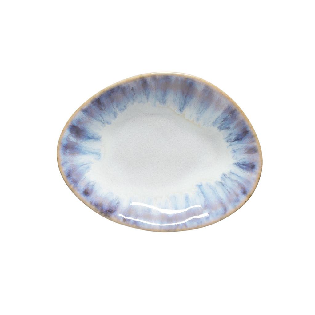 Brisa Ria Blue Oval Mini Plates - Set of 6