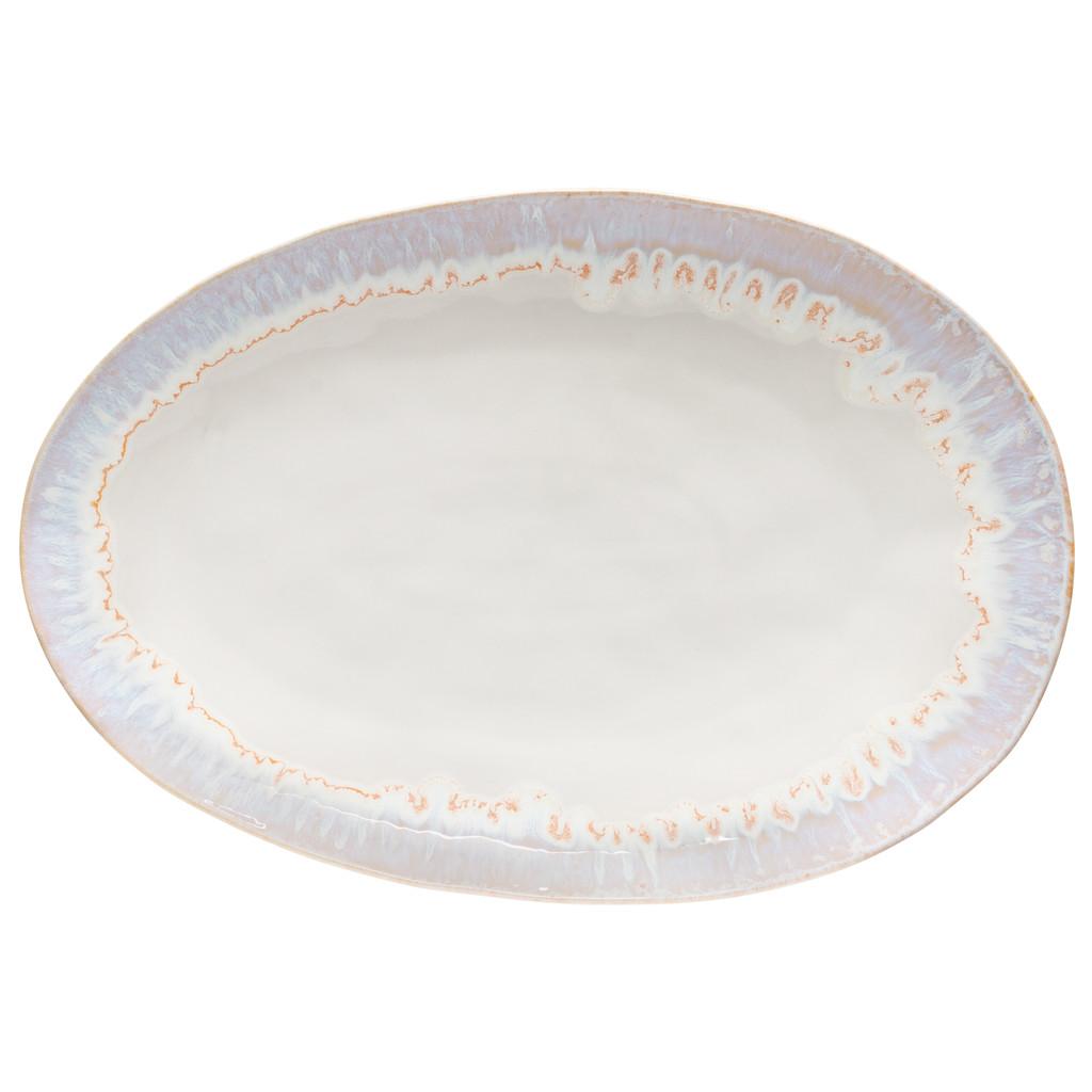 Brisa Salt and Sea Large Oval Platter