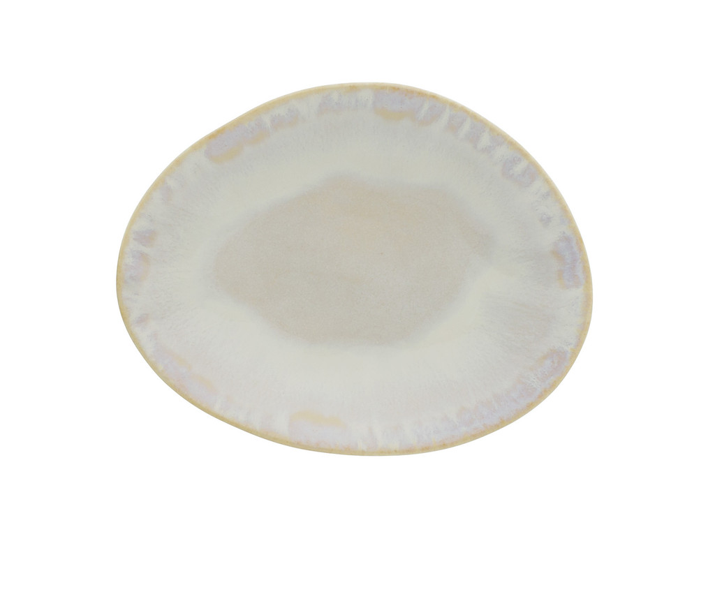 Brisa Salt and Sea Oval Appetizer Plates