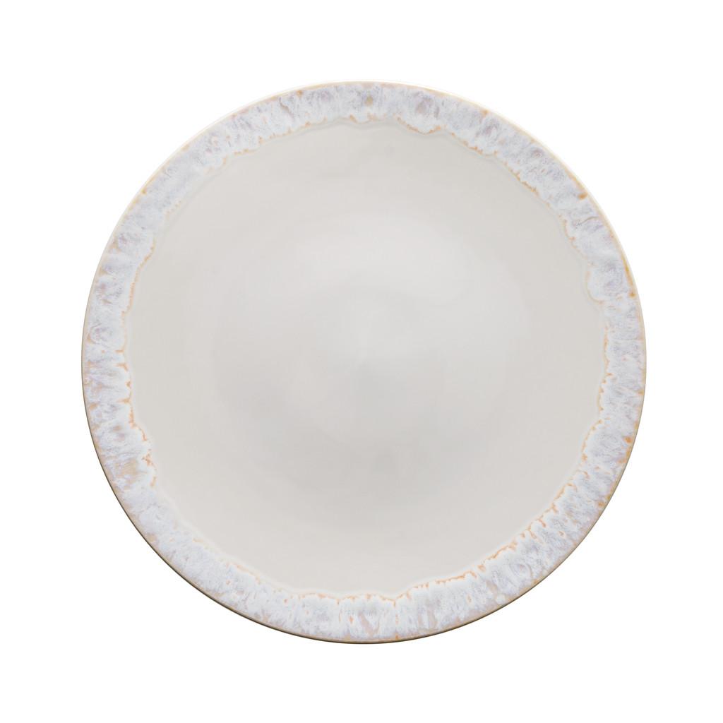 Taormina White Set of 2 Charger Plates