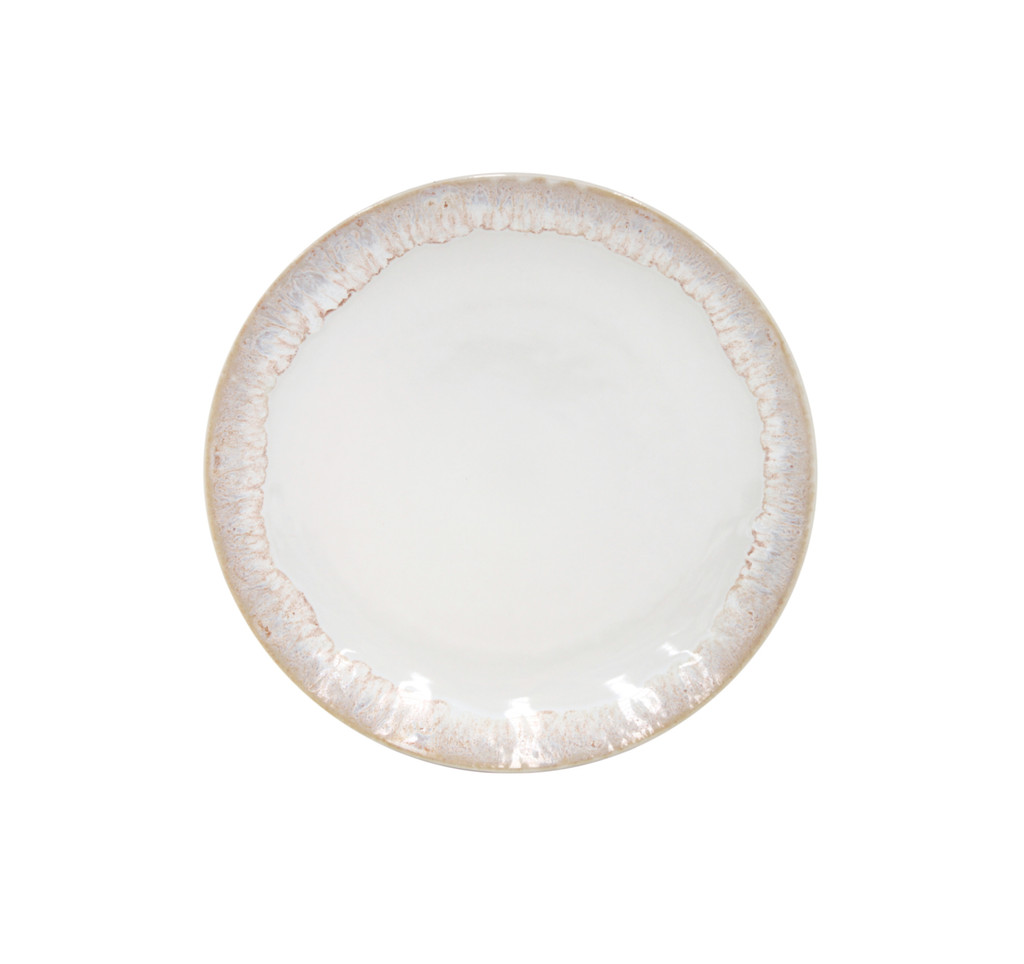 Taormina White Salad Plates