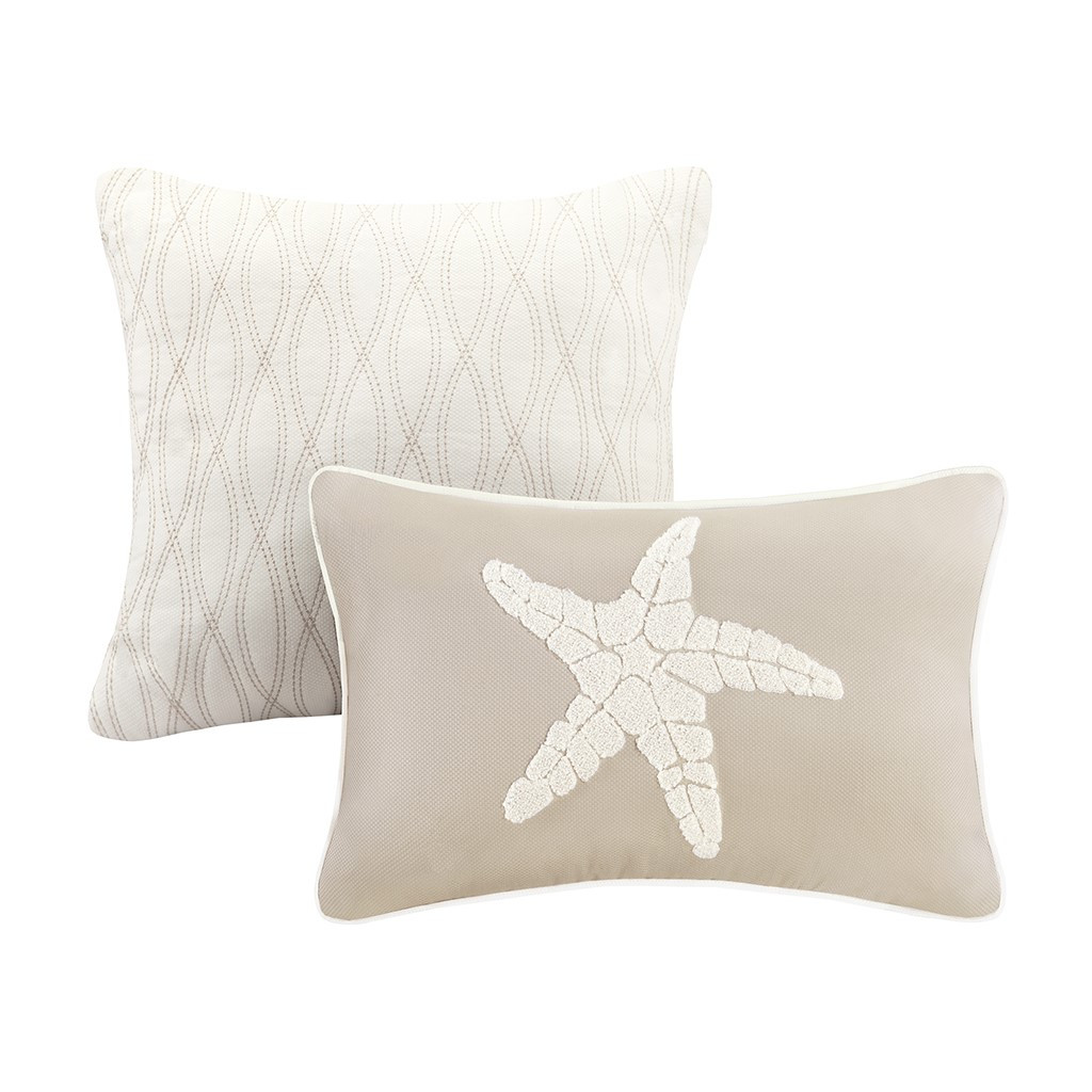 Sand and Shore Bedding Collection - decorative pillows