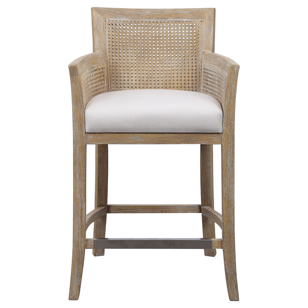 Encore Counter Stool in Natural front view