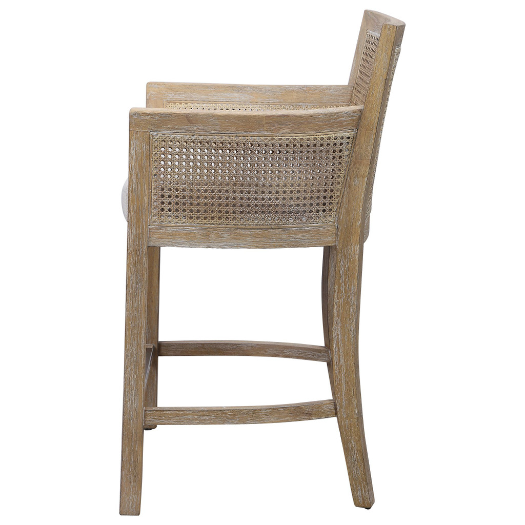 Encore Counter Stool in Natural side view