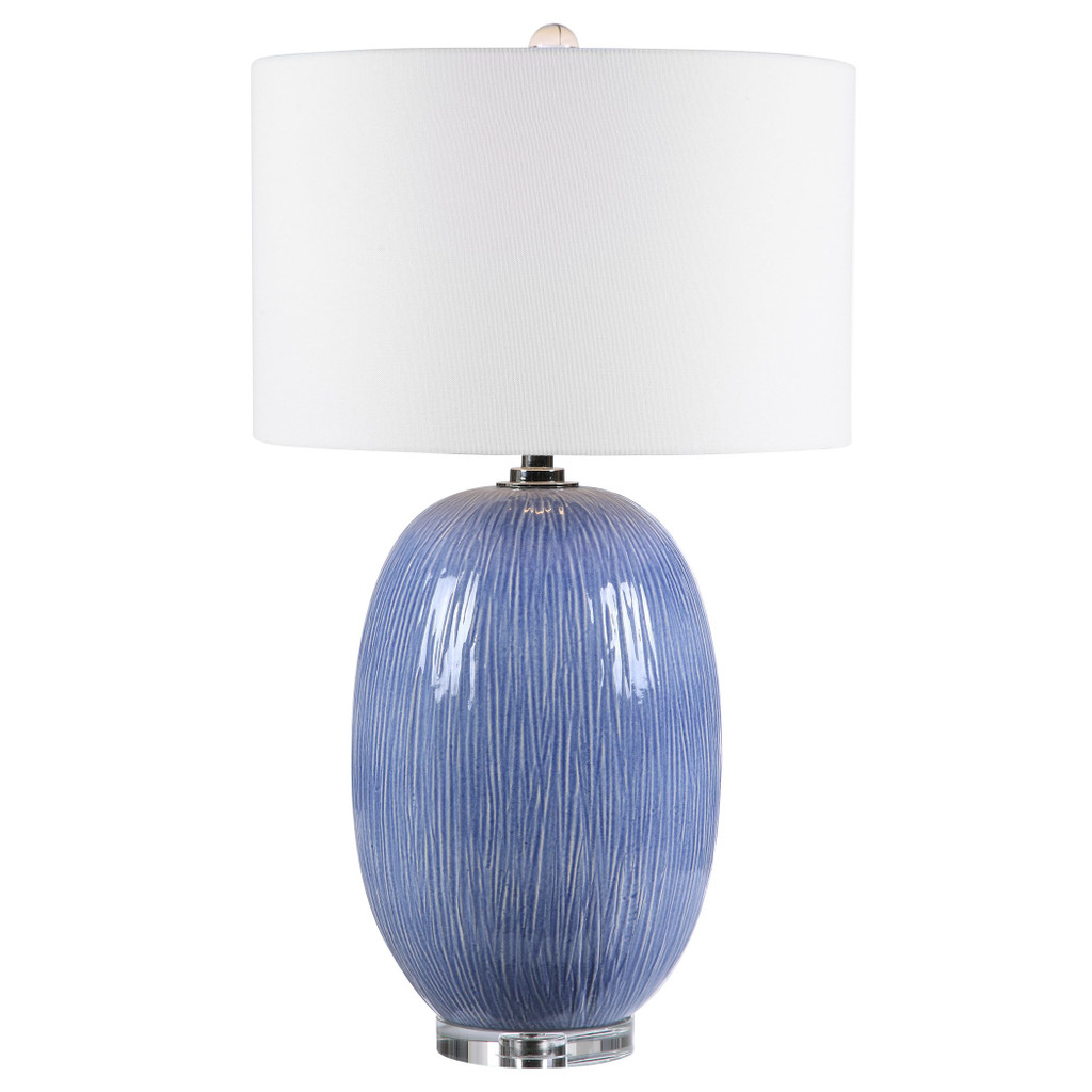 Pacific Blue Table Lamp