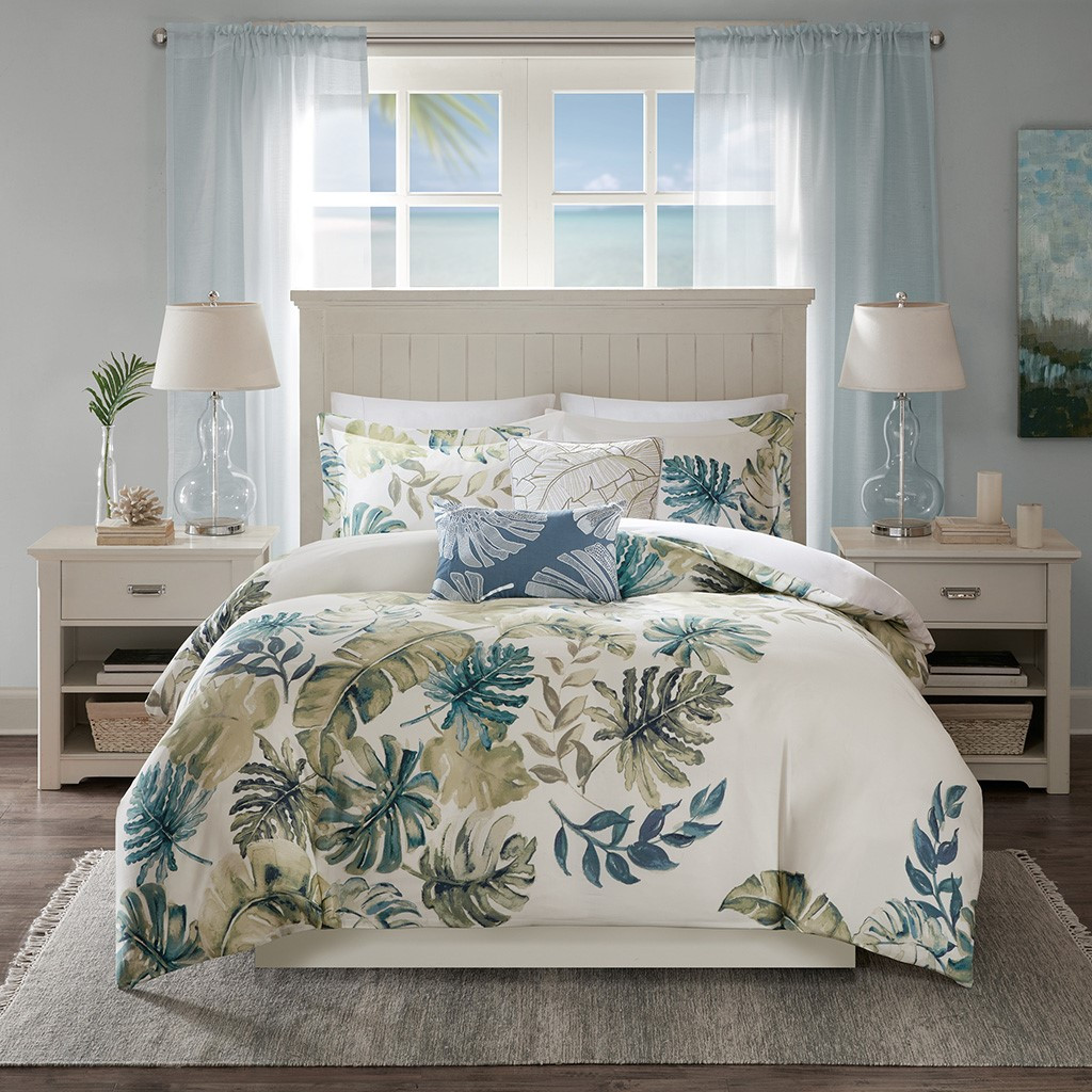 Lorelai Paradise Duvet Collection - Queen Size view 2