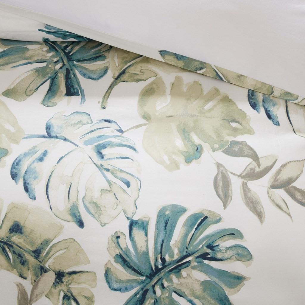 Lorelai Paradise Bedding Collection - close up duvet cover