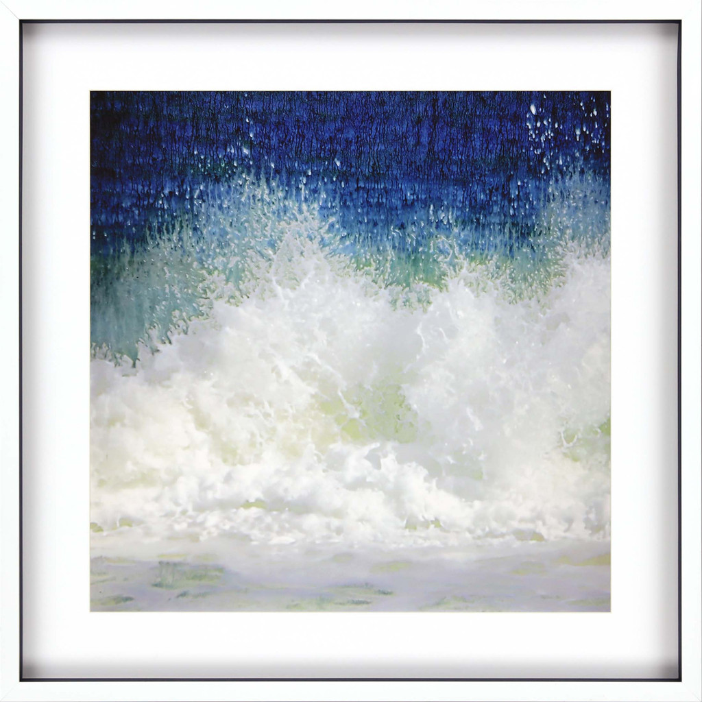 Splish Blue Wave Modern Art|
