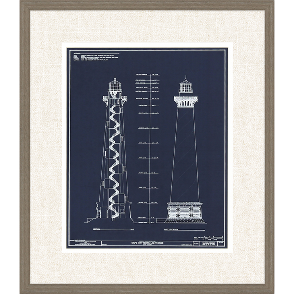 Lighthouse I Set of Two Framed Art_two