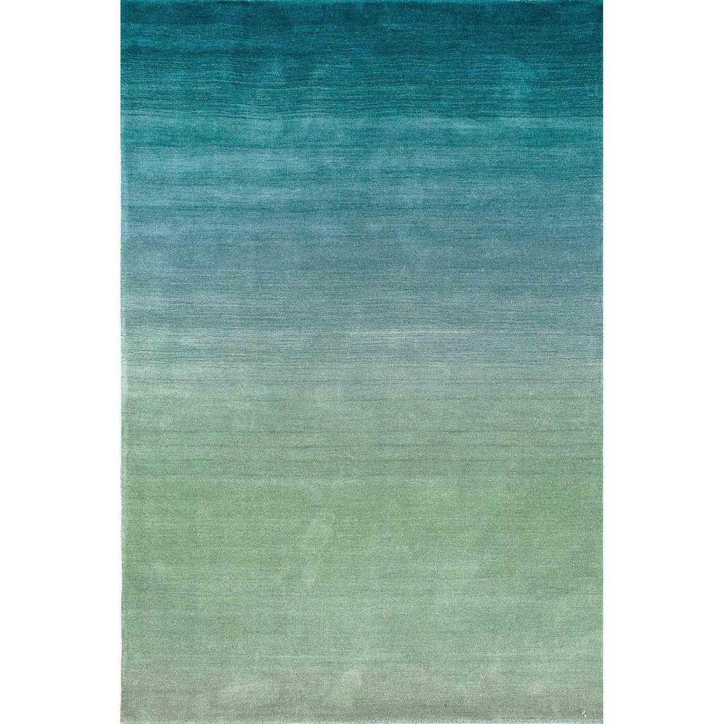 Arca Aqua Plush Wool Rug
