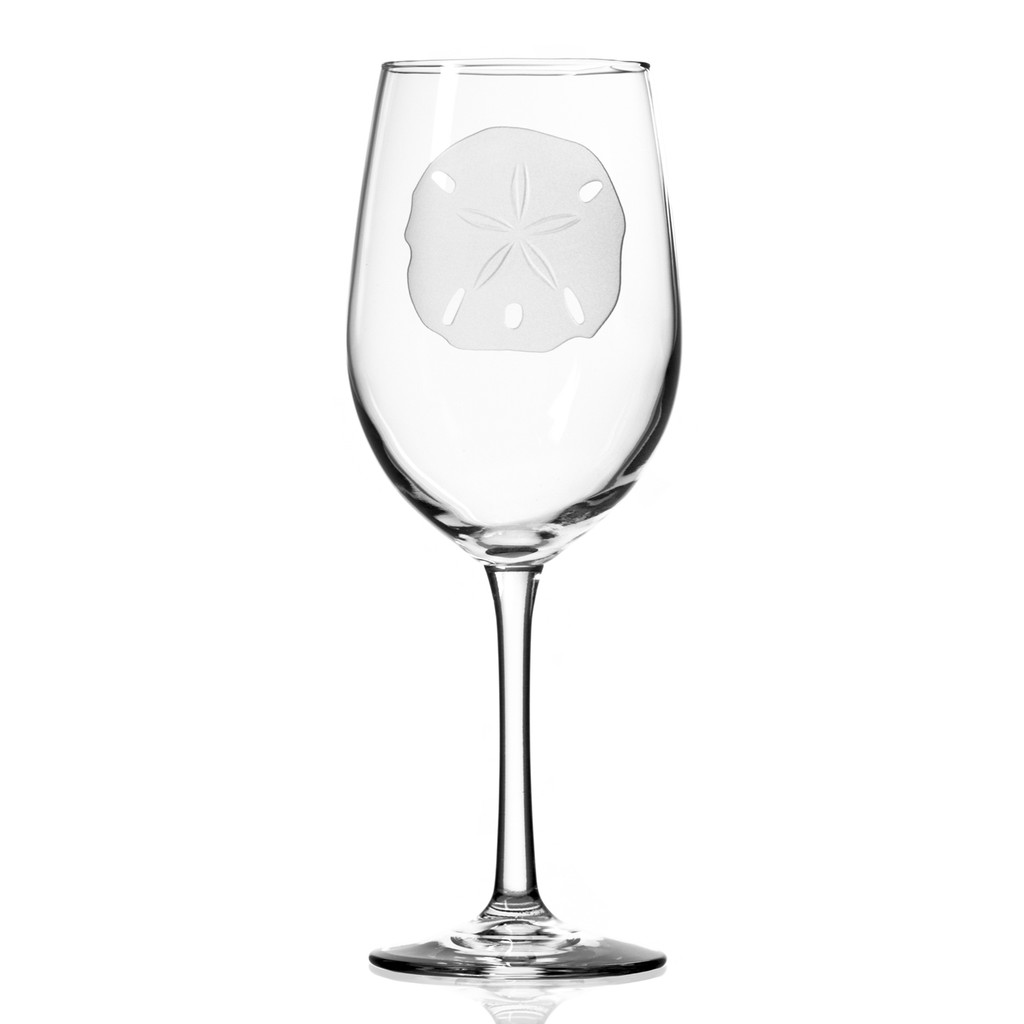 Sand Dollar 12 oz. Wine Glasses - single