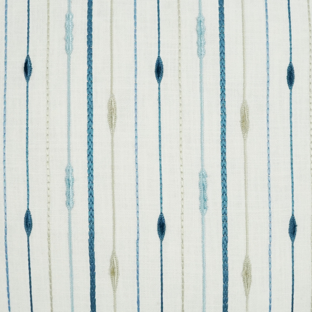 Pacesetter Embossed Striped Pillow fabric close up